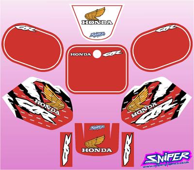 qr50 graphic kit qr50 sniper graphics motocross fx graphics. Black Bedroom Furniture Sets. Home Design Ideas